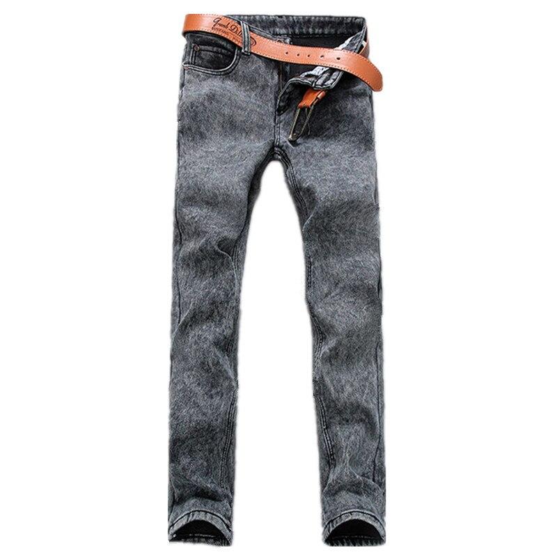 2016 winter men s thick classic fashion jeans men s straight jeans Men s cotton Heavyweight