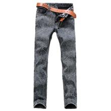 2016 зимний мужской толстый классические модные джинсы, мужские прямые джинсы, мужская хлопок Супертяжелом джинсы 3 цвет плюс размер 28-40