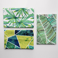 Leaves Patterns Series 100% Cotton Canvas Fabric,Handmade Sewing Cloth For Sofa Curtain Bag Home Decoration Material