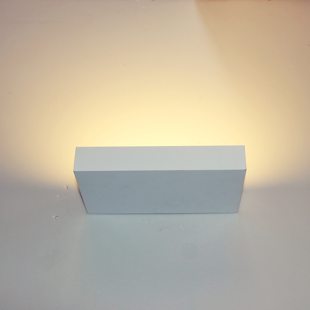 Creative Block Puzzle Led Wall Lamp White Body Indoor Wall Light ...