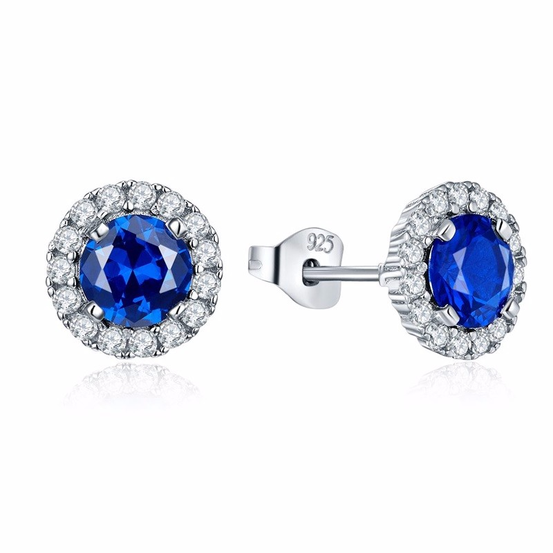 2016 crystal silver fashion ring women lady girl friend gift lover\'s Valentine\'s Day jewelry charms for woman,crystal silver jewelry stud earrings DE19120H (1)