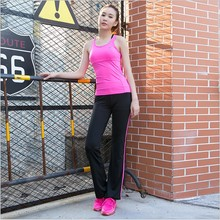 Women Sport yoga Suit Sport Shirts Vest + Sports Pants Yoga Set Running Fitness Training Clothing for Women