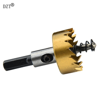 5pcs HSS Drill Bit Hole Saw Set Woodworking Titanium Tapper Hole Saw 16 30mm Wood Drilling