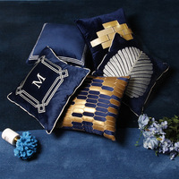 Model room living room sofa velvet hug pillowcase cushion cover furniture store cushion cover bedroom bedside pillowcase