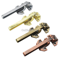 HOT 2PCS Hasp Latch Locks Door Chain Simple Anti theft Clasp Convenience Window Cabinet Latch for Home Hotel Security 4 Colors