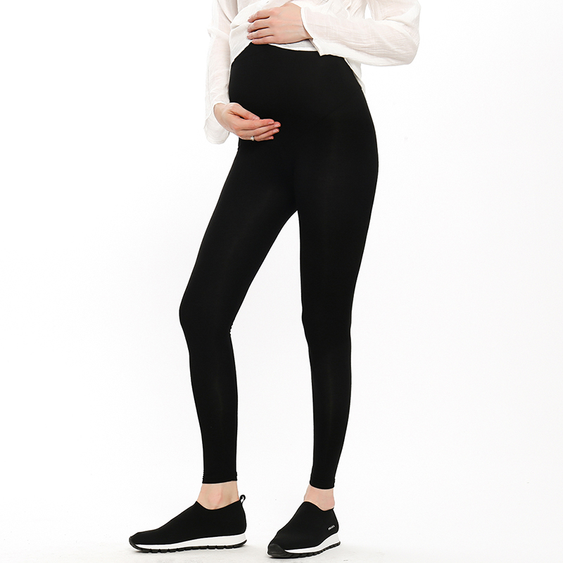 Adjustable Plus Size Leggings New Maternity Pant Leggings Pregnant Women Thin Soft Pants High Waist Clothes 2019 Hot Sal(China)