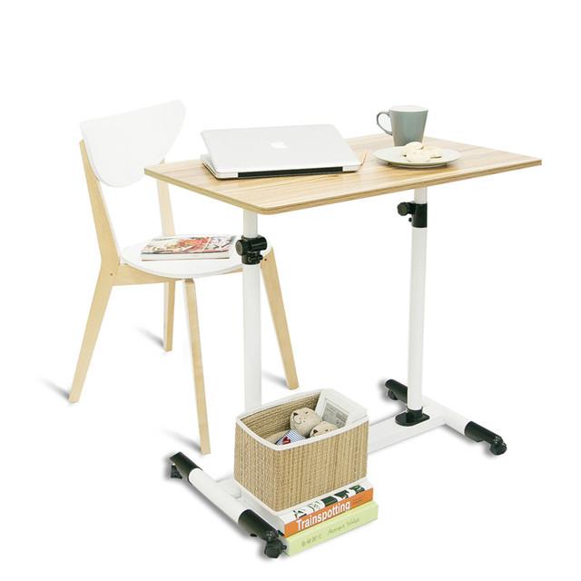 Simples moda moderna mesa de escritório mesa do computador notebook crianças móveis de elevação cama preguiçoso mesa do computador frete grátis