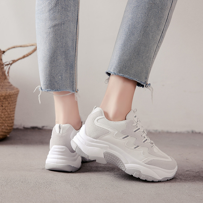 2019 new fashion sports women 39 s shoes ulzzang Harajuku casual platform casual outdoor shoes in Women 39 s Vulcanize Shoes from Shoes