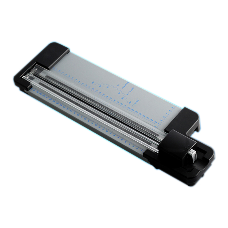 Paper Trimmer Manual Paper Cutter Professional สำหรับ A4 กระดาษ Precision Trimmer เส้นประ / Full Line / Wave Line Cutting