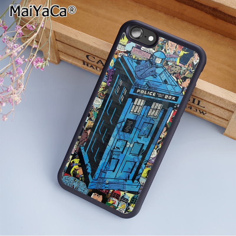 Maiyaca The Doctor Who Printed Phone Case Cover For Iphone 5s Se 6 6s 7 8 Plus 10 X Samsung Galaxy S6 S7 S8 Edge Note 8 Phone Bags & Cases