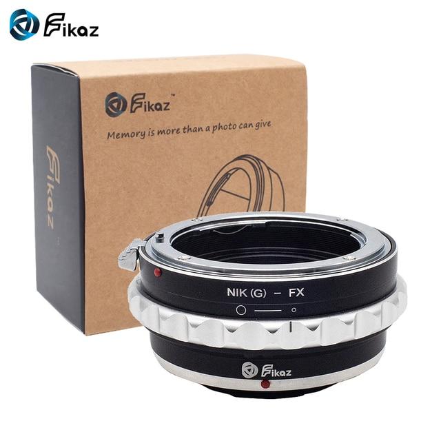 Fikaz AI (G)  FX עדשת מתאם טבעת עבור ניקון AI G עדשה כדי Fujifilm X הר X Pro1 X M1 X E1 X E2 X T1 X100 x10T מצלמה