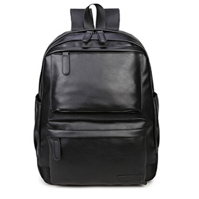 0cd1bde854ec 2018 высокое качество из искусственной кожи Для женщин рюкзак модные  однотонные школьные сумки для девочек-