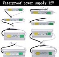 DC 12 V 24 V IP67 Wasserdicht Stromversorgung Elektronische Led-fahrer-transformator outdoor AC 100-240 V-10 Watt 50 Watt 60 Watt 80 Watt 100 Watt 200 Watt 250 Watt