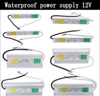 DC 12V 24V IP67 Waterproof Power Supply Electronic LED Driver Transformer outdoor AC 100-240V -  10W 50W 60W 80W 100W 200W 250W