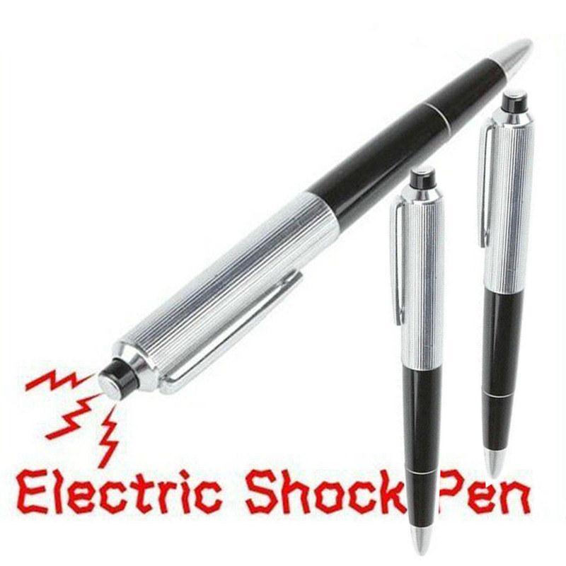 Fancy Ball Pen Mini Electric Shock Joke Prank Trick Toy Prank Trick Pen Antistress Shocking Gadget Gag Toys Funny Novelty Toys