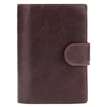 Weduoduo Genuine Cow Leather Men Wallet Fashion Coin Pocket Organizer Wallets High Quality Male Card ID Hold Passport Pocket brand genuine leather passport holder men wallet with passport pocket coin pocket multiple id card holder men wallets purses