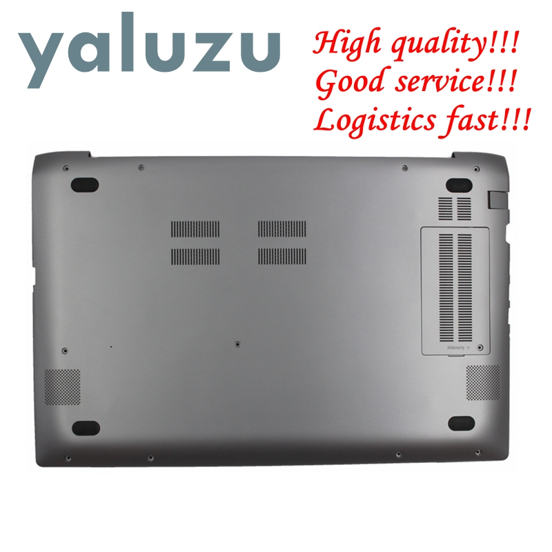YALUZU NEW FOR Samsung NP880Z5E NP780Z5E NP870Z5E NP770Z5E Laptop Base Bottom Cover Lower Case BA75-04323A Grey Color