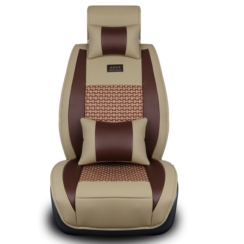 Buy Ice Silk Universal Car Seat mat For Nissan Titan Sentra Qashqai J10 J11 X-Trail T31 T32 Maxima Murano Z52 Left Driving for only 42.22 USD