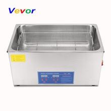 цена на VEVOR Stainless Steel  1080W Professional Digital Ultrasonic Cleaner Heater Timer 22 L Liters