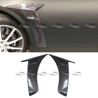 For Mercedes Benz S Class W222 B Style Carbon Fiber Air Flow Fender Kits Intakes Car Styling