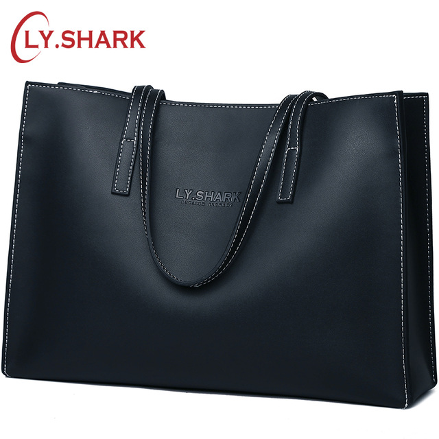 LY.SHARK Luxury Handbags Women Bags Designer Ladies Genuine Leather Bags Shoulder Bags Large Capacity Tote Bags Top-handle Purse seven skin brand women shoulder bag female large tote bag ladies pu leather top handle bags luxury handbags women bags designer