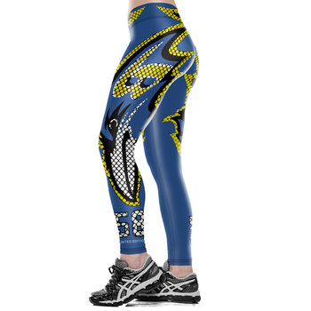Unisex Football Team Ravens 68 Print Tight Pants Workout Gym Training Running Yoga Sport Fitness Exercise Leggings Dropshipping