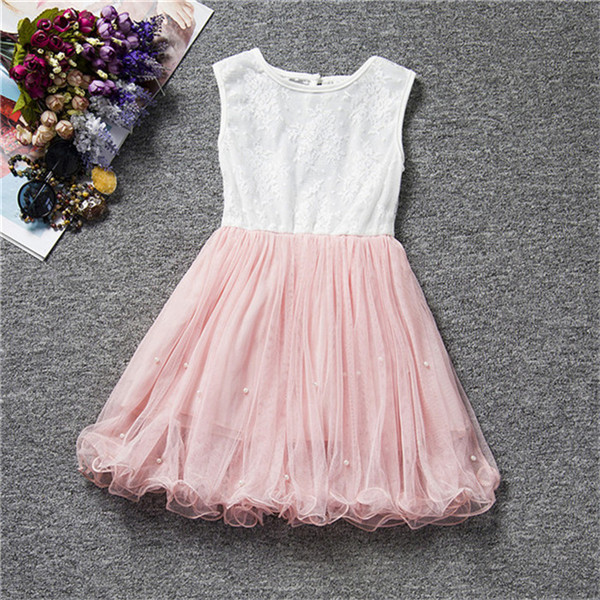 Summer Children Clothing For Teenage Girl Little Tutu Dress For 2-9 Years Dinner Outfits Daily Costume Party Wear Vestidos