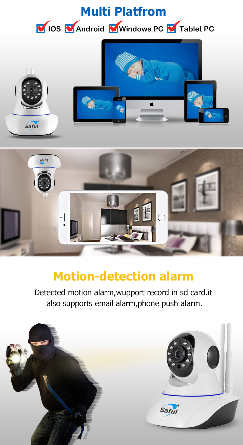 IP Camera WiFi Wireless (1)