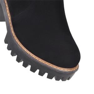 Image 5 - MORAZORA 2020 ฤดูหนาวรองเท้าผู้หญิงรองเท้าส้นสูงรองเท้าผู้หญิงอุ่นเข่ารองเท้าผู้หญิงรองเท้าบู๊ตหิมะ