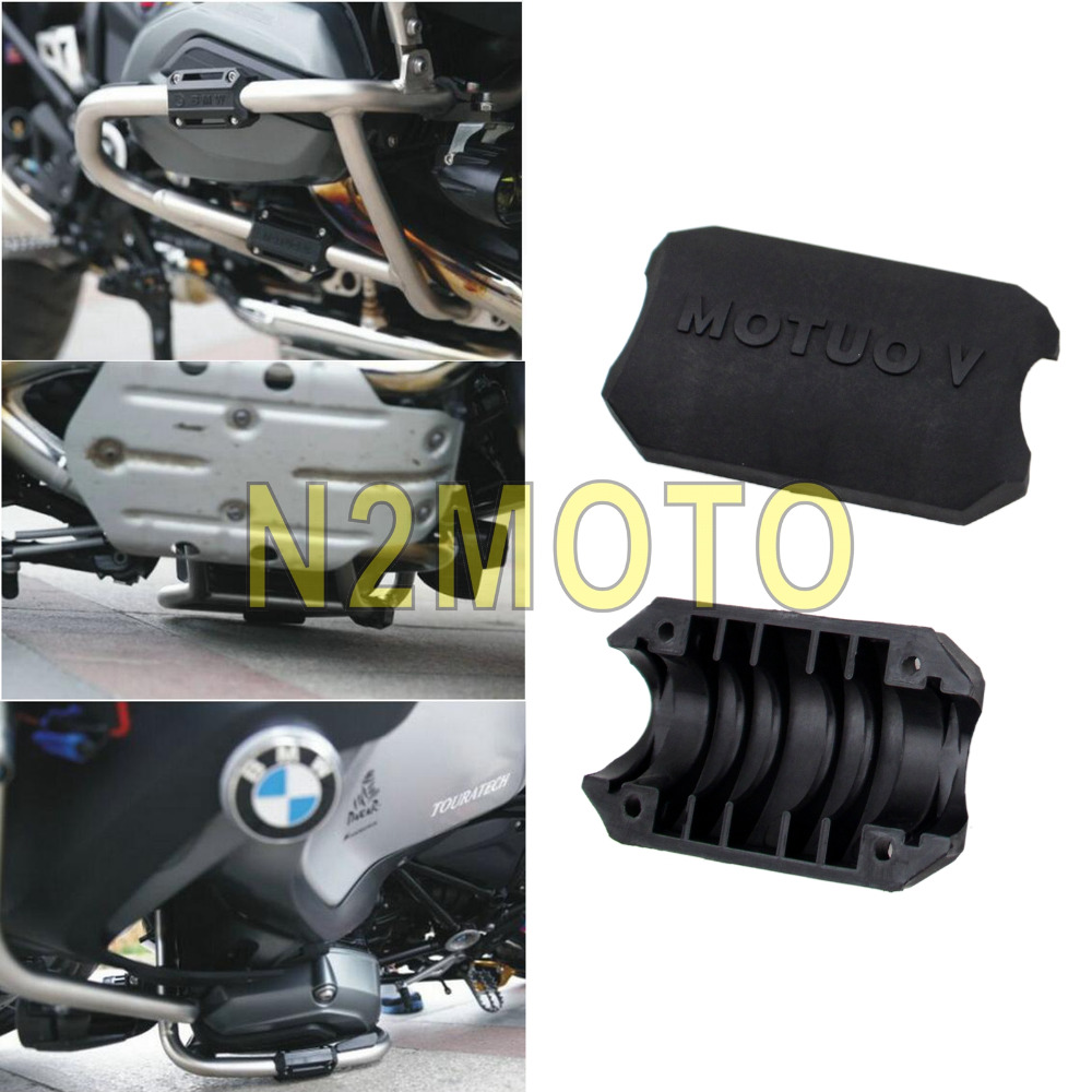 motorcycle engine guard protection bumper decorative block