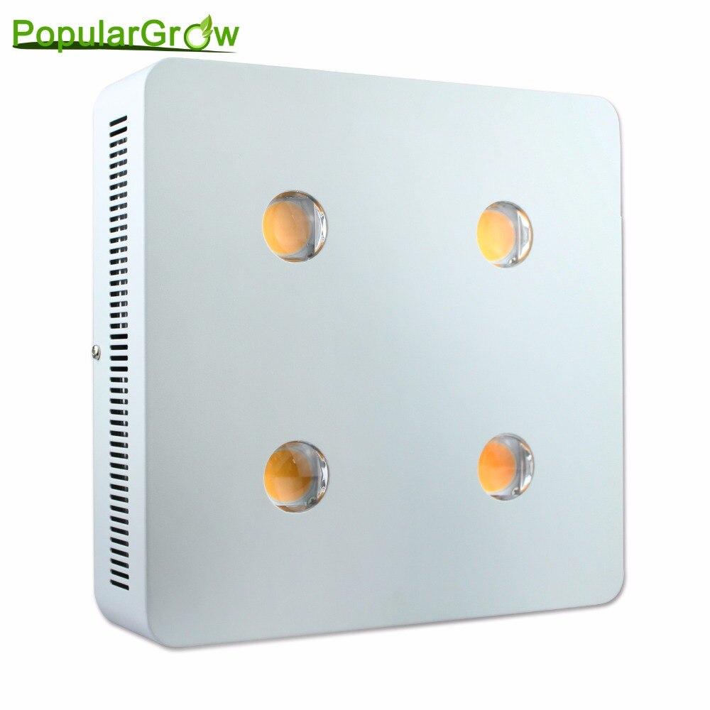 Populargrow светодио дный 800 Вт растет свет с cree cxa3070 чип для гидропоники парниковых палатка коммерческих спецодежда медицинская роста растений