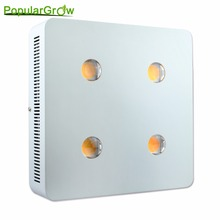 populargrow 800W led grow light with cree cxa3070 chip for hydroponic greenhouse tent commercial medical plants growth