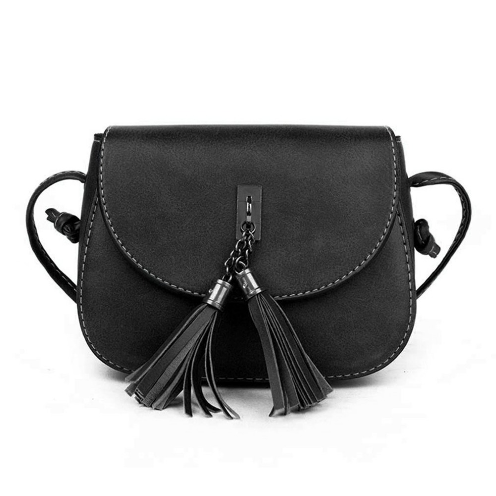 2 Color  Women Small Vintage Design PU Leather Messenger Bag  Female Girls Tassels Shoulder Cross body Bags Ladies hot new arrival fashion women leather tassels handbag cross body single shoulder bucket bag lady girls vintage messenger bags bolsa