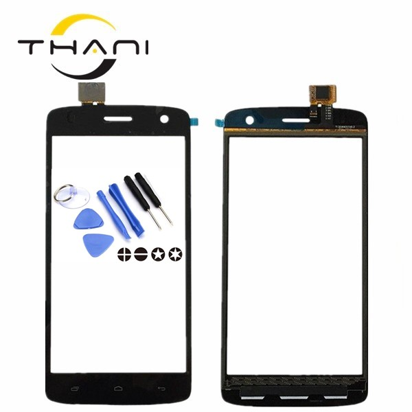 Thani 5.0 Touchscreen For Fly IQ 4503 Quad ERA Life 6 IQ4503 Touch Screen Digitizer Front Touch Glass Panel Sensor+tools