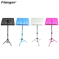 Flanger FL 05R Multicolor Foldable Small Music Stand Holder Sheet With Carrying Bag For Violin Piano Guitar Bass Sax Performance
