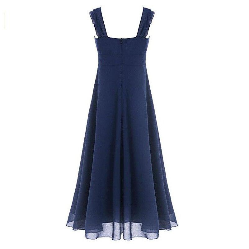 Elegant Girls Dress For Weddings Long Tulle Evening Party Dresses ...