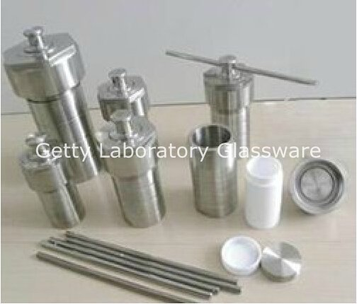 100ml Teflon Lined Hydrothermal Synthesis Autoclave Reactor (Customizable)