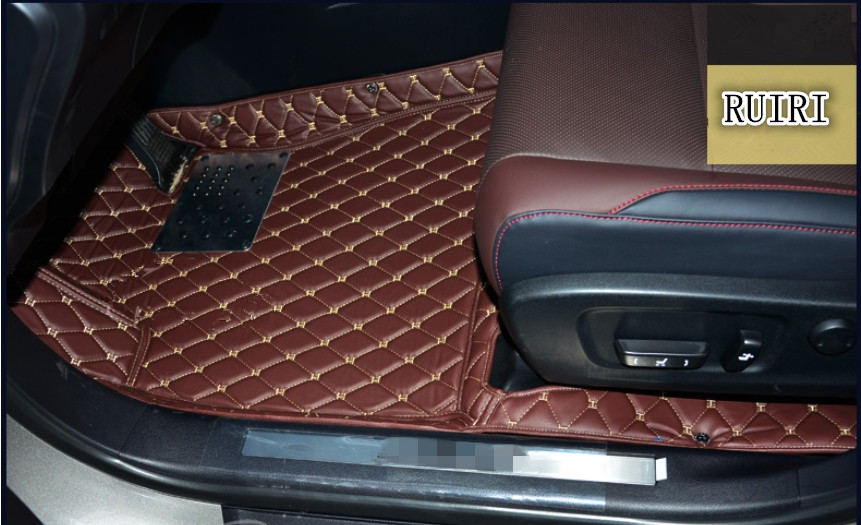 Tappeti di alta qualità! Tappetini auto speciale per Lexus RX 350 2018-2016 impermeabile resistente tappeti per RX350 2017, Trasporto libero