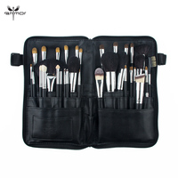 Anmor Professional 32PCS Makeup Brushes Set Natural Hair Make Up Brush Foundation Eyebrow Eyeshadow Portable Tools Cosmetic Bag