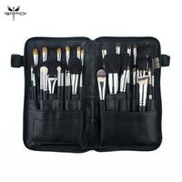 Anmor Professional 32 PCS Makeup Brushes Set Natural Hair Make Up Brush Foundation Eyebrow Eyeshadow Tools With Cosmetics Bag