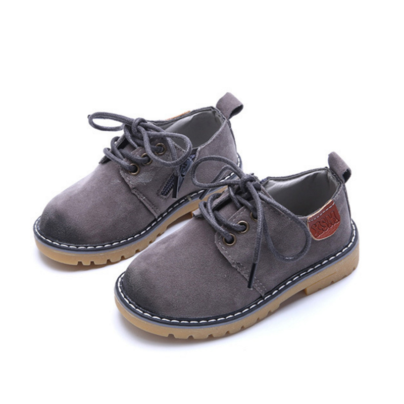 New Spring Children Casual Shoes Fashion Leather Kids Outdoor Toddler Shoes Cow Muscle Girls Boys Sneakers Students Shoes