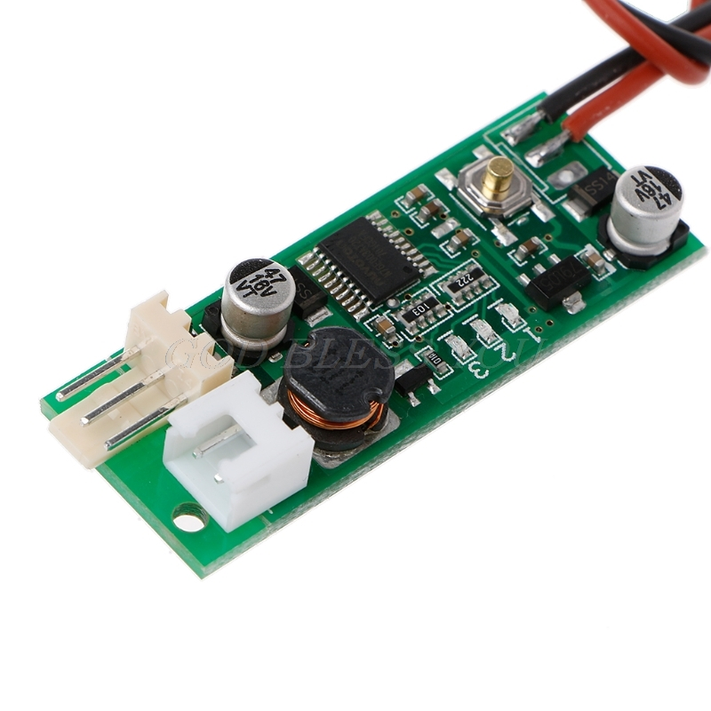 DC 12V Temperature Speed Controler Denoised Speed Controller For PC Fan/Alarm