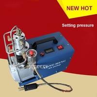 30MPa 1 8KW Electric High Pressure Air Pump Compressor For Pneumatic Airgun Scuba Rifle PCP Inflator