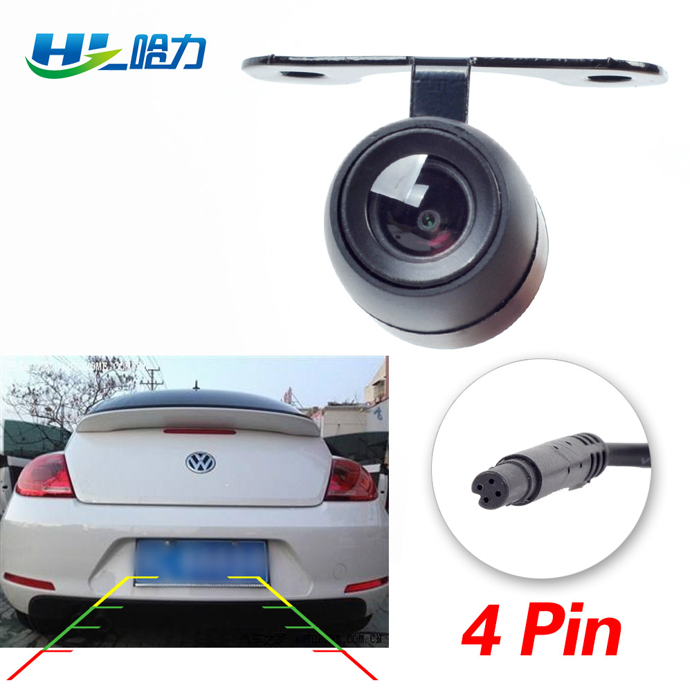 HL Car Rear View Camera Waterproof 2.5mm Jack Port PAL Rear Camera Parking Camera CCD For Car DVR Video Recorder Universal title=