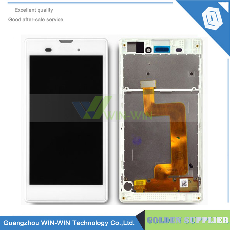 Подробнее о Black/White For Sony Xperia T3 M50W D5103 D5106 LCD Display Touch screen with Digitizer Assembly With Frame for sony xperia t3 m50w d5102 d5103 d5106 lcd display with touch digitizer frame assembly by free shipping white