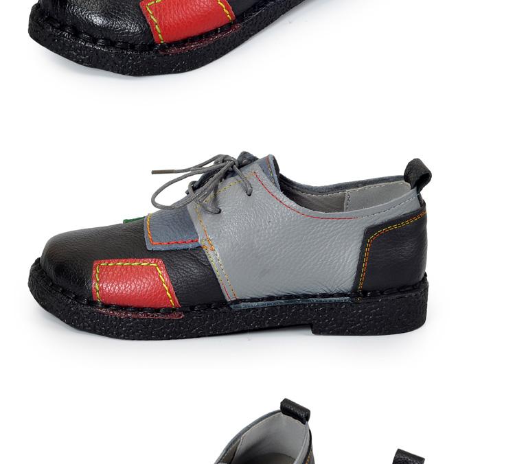 HTB1E5XaRFXXXXX9XXXXq6xXFXXXM - Women's Handmade Genuine Leather Flat Lace Shoes-Women's Handmade Genuine Leather Flat Lace Shoes