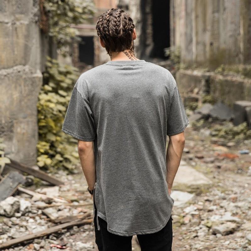 2018 kısa kollu T-shirt erkek Avrupa ve Amerika Birleşik Devletleri - Erkek Giyim - Fotoğraf 2