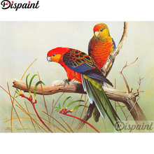Dispaint Full Square/Round Drill 5D DIY Diamond Painting Animal bird scenery 3D Embroidery Cross Stitch Home Decor Gift A12316 dispaint full square round drill 5d diy diamond painting teacup bird scenery 3d embroidery cross stitch 5d home decor a18408
