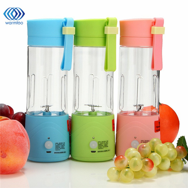 Mini Slow Juicer Signora : USB Electric Fruit Juicer Machine Mini Portable Rechargeable Smoothie Maker Blender Shake And ...