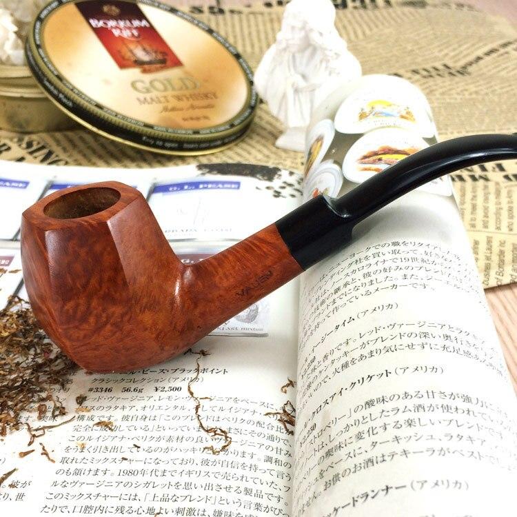 Main Bruyère bois pipe de bruyère fumer marchandises en gros fabricants Aa0124